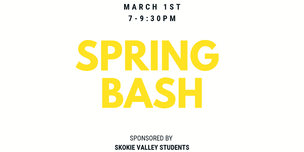 First Friday: Spring Bash