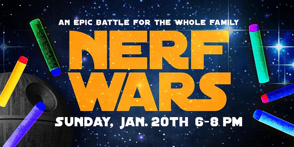 Nerf Wars: Episode 2019