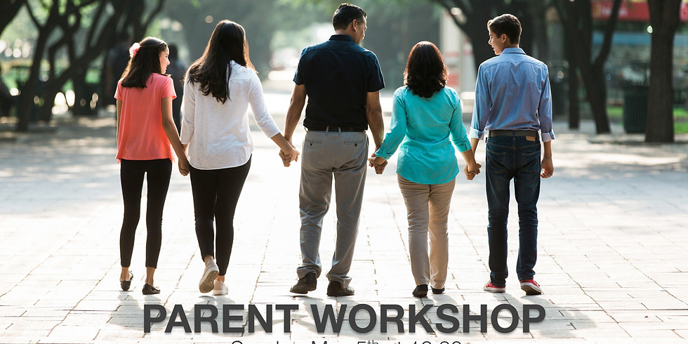 Parent Workshop: Let's Talk-The Art of Communicating with Teens