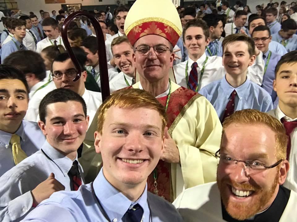 Bishop Barres Visit