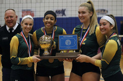 Vikette Volleyball State Champs
