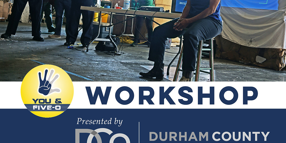 You & Five-O Workshop Presented by Durham County Library