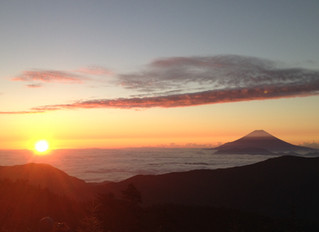 赤石岳・悪沢岳3泊4日の山旅