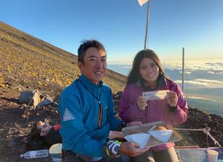 お誕生日記念に富士登山!