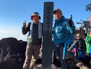 7/25の富士山頂です
