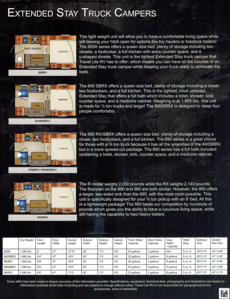 Travel Lite Extended Stay Brochure side