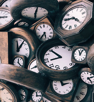 Vintage Wood Clocks