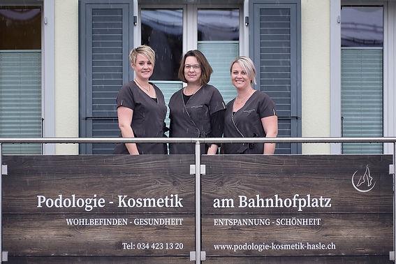 Podologie-Kosmetik-Hasle / Kontakt
