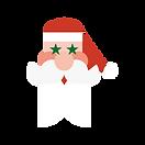 Santa claus feliz navidad