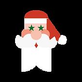 Père Noël crocus blanc