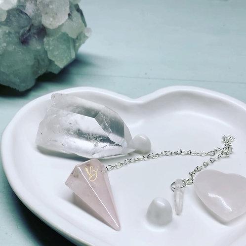 Personalised Crystal Pendulums