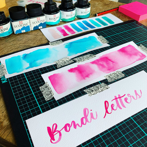 Bondi Letters Bookmarks