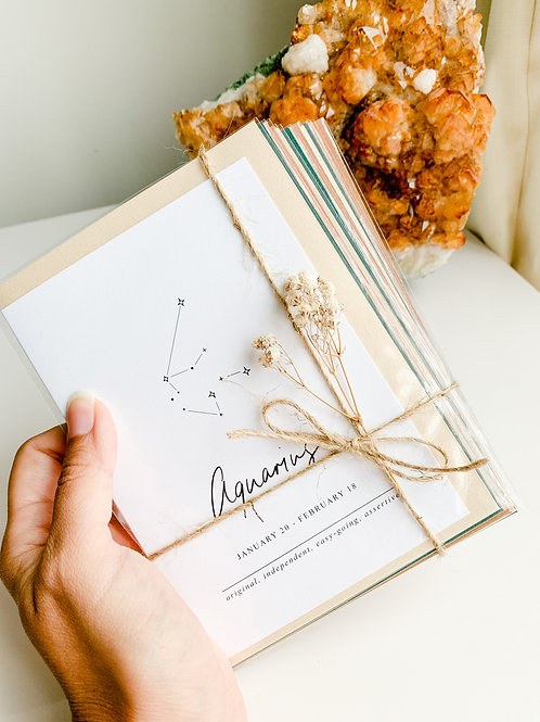 Zodiac Collection - Greeting Cards