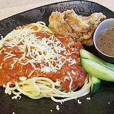 Kana Pinoy tyylin spagetilla
