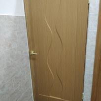 8. Расширение дверного проёма в туалете.