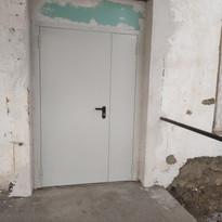 10. Расширение дверного проёма входная д