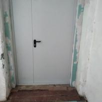 11. Расширение дверного проёма входная д