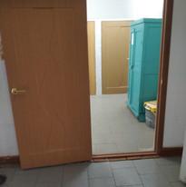 15. Расширение дверного проёма в туалетн