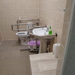20. Устройство туалетной комнаты для инв