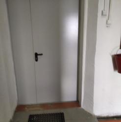 9. Расширение дверного проёма входная дв