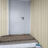 4. Расширение дверного проёма (входная д