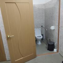 19.  Расширение дверного проёма в туалет