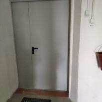 8. Расширение дверного проёма входная дв
