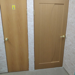 18. Расширение дверного проёма в туалетн