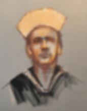 Pastel on paper, 18X24