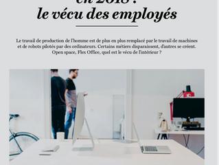 Article paru dans l'édition spéciale du jubilé - Apunto 4/2018, revue des membres Employés suiss