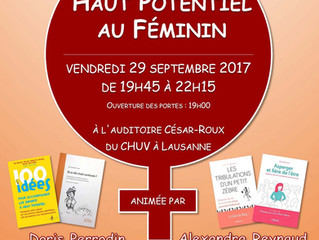 ASEHP Conférence: le Haut potentiel au Féminin