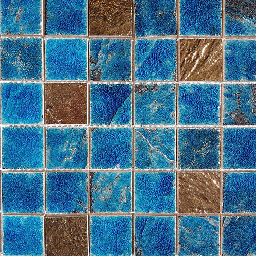 Sea Blue Mosaic