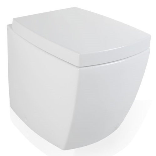 SQUARE floor mounted WC/Bidet