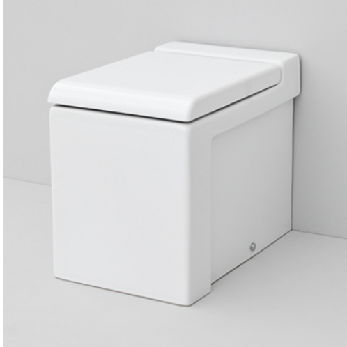 La Fontana Floor mounted White WC/Bidet
