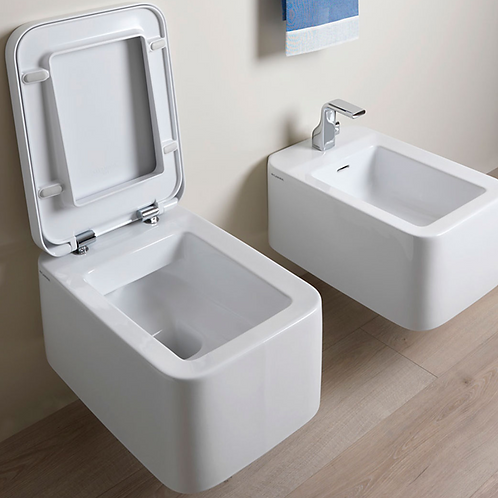 NILE WC/Bidet set GoClean Slim cover