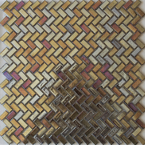 Gold Glass Mosaic
