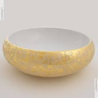 Gold Decor Basin