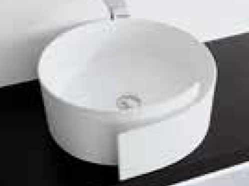 ROLL counter top White Basin