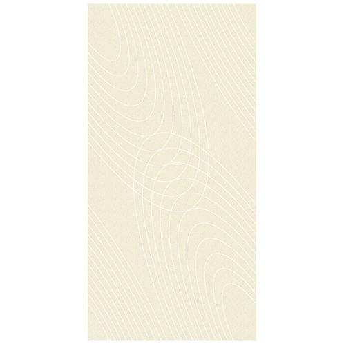 Decorative thin porcelain tile