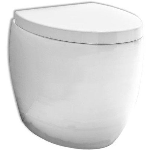 OVAL Floor mounted WC/Bidet