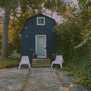 Tiny Living in a Magical Bespoke Little Home