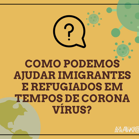 Guidebook: how to help migrants and refugees during the Coronavirus pandemic