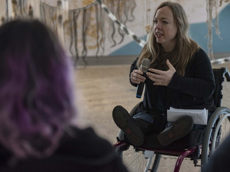 Disability activist Dessa Cosma leads conversation on disability and power