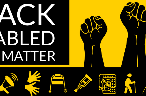 Black Disabled Lives Matter, join us Monday June 11th