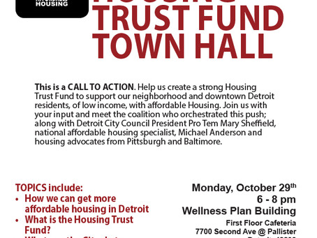Affordable Housing Trust Fund Town Hall