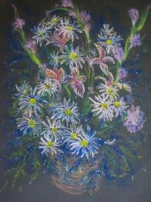 Floral Pastel on Paper 2004