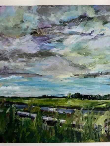 Fields Near Amsterdam