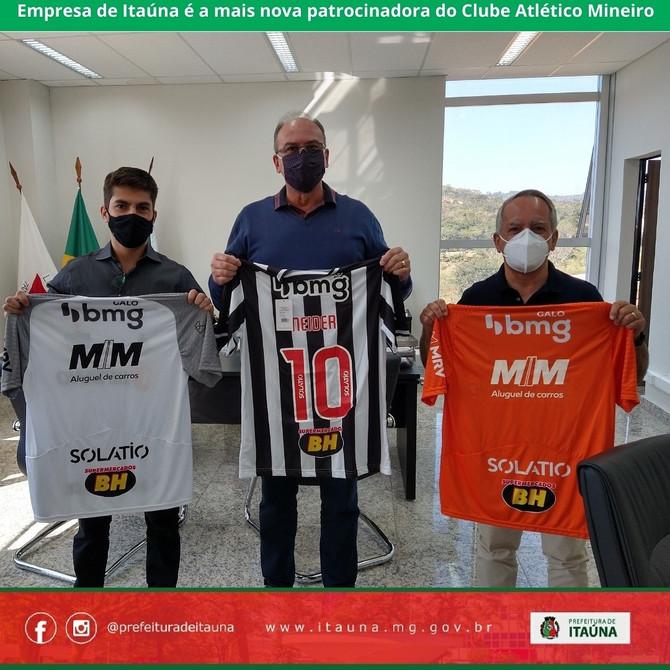 Empresa de Itaúna é a mais nova patrocinadora do Clube Atlético Mineiro