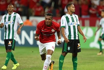 América perde para Inter no Sul e vê rival abrir três pontos de vantagem na liderança da Série B