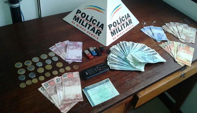 PM apreende mais de R$ 10 mil em notas falsificadas em Bom Despacho
